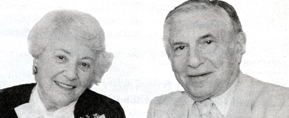Rhoda G. Sarnat, LCSW And Bernard Sarnat, MD - From NASW Archives