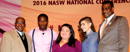 2016 NASW National Conference Youth Plenary Panel