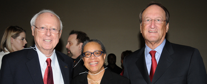 Charter Member John Hansan With Dr. Wilma Peebles And Stanley Weinstein At 60th Anniversary Event 2015