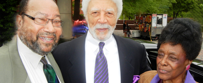 Charles Howard, Ron Dellums And Bernice Harper At Howard University Graduation Ceremony 2014
