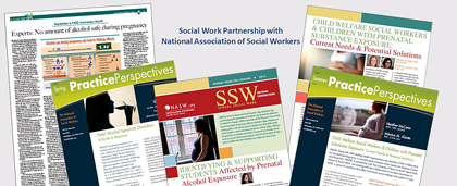 Samples Of FASD Publications Produced In UTA And NASW Partnership