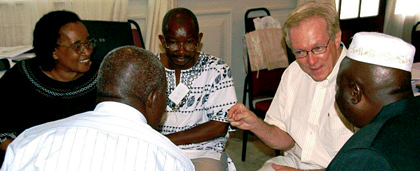 NASW Social Work Pioneer Dr. Jim Kelly Meets With International Partners In Tanzania