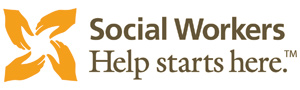 Social Workers Help Starts Here Logo